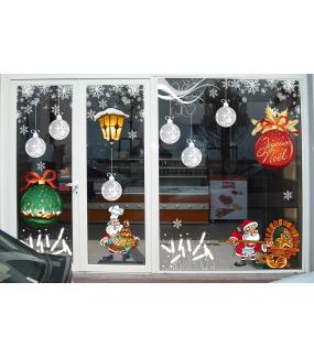 Sticker-frise-épis-de-blé-givrés-flocons-blanc-paysage-hiver-vitrophanie-décoration-vitrine-noël-boulangerie-pâtisserie-électrostatique-sans-colle-repositionnable-réutilisable-DECO-VITRES