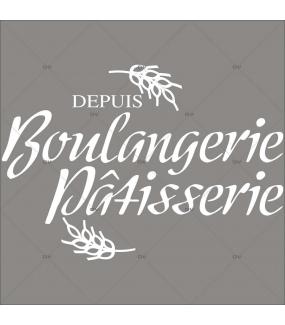 BL53 - Sticker boulangerie personnalisable