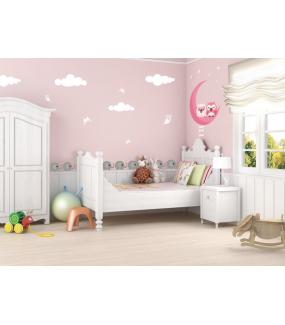 Stickers-4-nuages-roses-blancs-chambre-bébé-enfant-fille-adhésif-encres-écologiques-latex-décoration-intérieure-DECO-VITRES