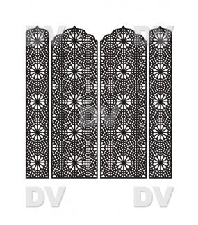 DSP1409 - Lot de stickers moucharabieh