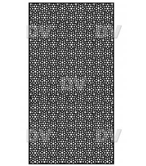 DSP1412 - Sticker moucharabieh sur mesure
