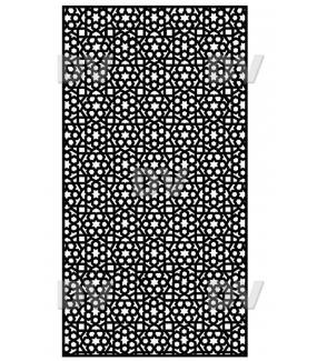 DSP1412-2 - Sticker moucharabieh sur mesure