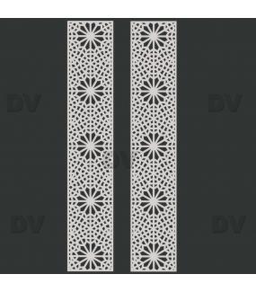 DSP1421 - Lot de 2 stickers moucharabieh