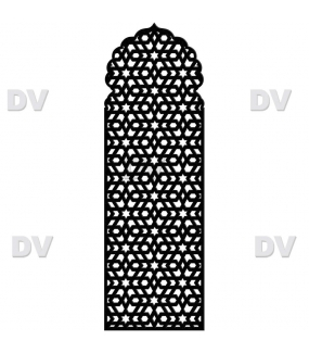 DSP1607 - Sticker moucharabieh personnalisé