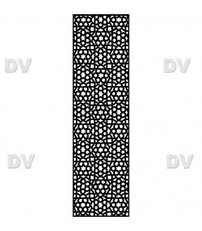 DSP1702 - Sticker moucharabieh personnalisé