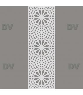DSP1712 - Sticker moucharabieh format personnalisé