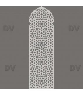 DSP1715 - Sticker moucharabieh format personnalisé