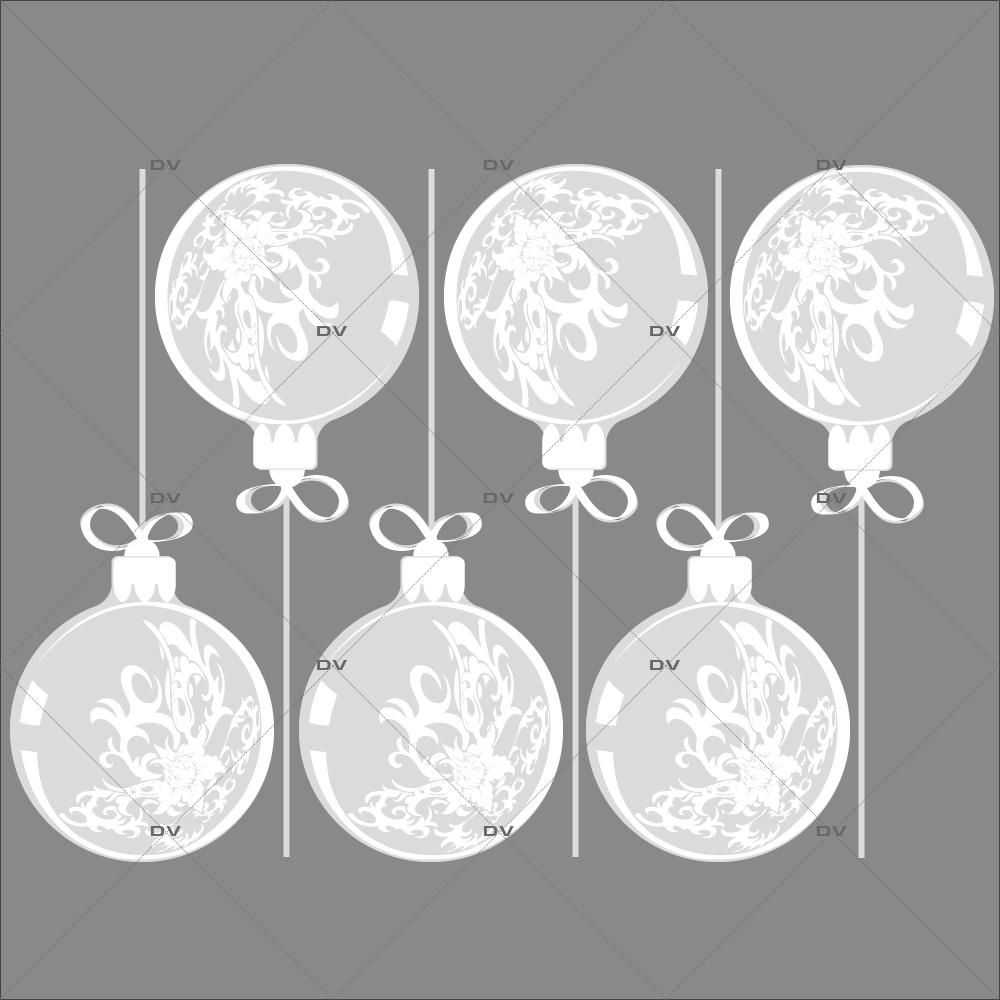 Sticker-boules-géantes-de-noël-givrées-effet-dépoli-blanc-vitrophanie-décoration-vitrine-noël-électrostatique-sans-colle-repositionnable-réutilisable-DECO-VITRES