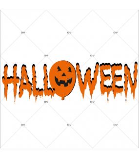 Sticker-halloween-texte-31-octobre-vitrophanie-décoration-vitrine-halloween-électrostatique-sans-colle-repositionnable-réutilisable-DECO-VITRES