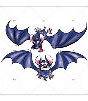 Sticker-halloween-2-chauve-souris-31-octobre-vitrophanie-décoration-vitrine-halloween-électrostatique-sans-colle-repositionnable-réutilisable-DECO-VITRES