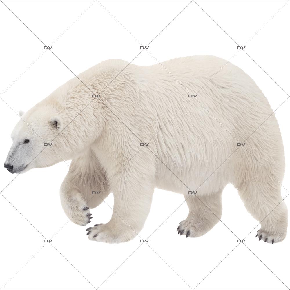 Sticker-ours-polaire-animaux-vitrophanie-décoration-vitrine-noël-hiver-électrostatique-sans-colle-repositionnable-réutilisable-DECO-VITRES