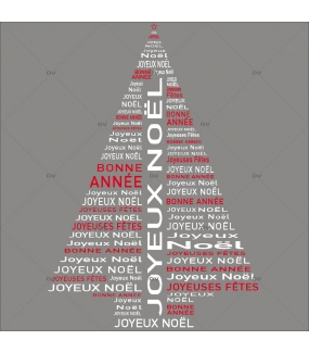 Sticker-sapin-textes-joyeux-noël-multilingue-international-blanc-vitrophanie-décoration-vitrine-noël-électrostatique-sans-colle-repositionnable-réutilisable-DECO-VITRES