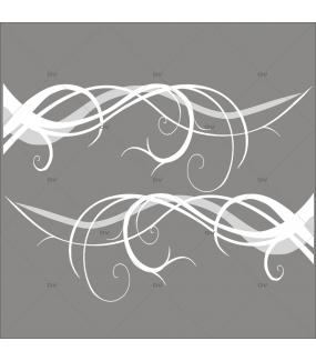 Sticker-angle-volutes-givrées-blancs-paysage-hiver-vitrophanie-décoration-vitrine-noël-électrostatique-sans-colle-repositionnable-réutilisable-DECO-VITRES