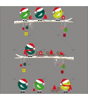 Sticker-branches-oiseaux-de-noël-animaux-givrées-enneigées-vitrophanie-décoration-vitrine-noël-électrostatique-sans-colle-repositionnable-réutilisable-DECO-VITRES