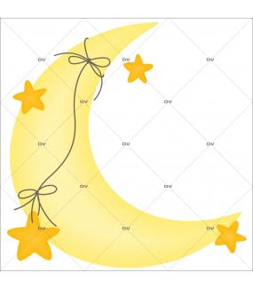 Sticker-croissant-de-lune-chambre-bébé-enfant-adhésif-encres-écologiques-latex-décoration-intérieure-DECO-VITRES