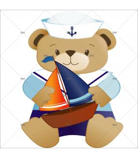 Sticker-ourson-marin-bateau-chambre-bébé-enfant-garçon-adhésif-encres-écologiques-latex-décoration-intérieure-DECO-VITRES