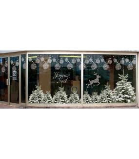 Sticker-frise-boules-de-noël-en-cristaux-blanc-vitrophanie-décoration-vitrine-noël-électrostatique-sans-colle-repositionnable-réutilisable-DECO-VITRES