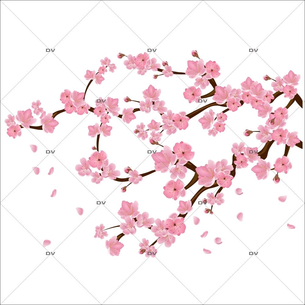 Sticker-branche-de-cerisier-en-fleurs-sakura-paysage-nature-zen-japon-printemps-vitrophanie-décoration-vitrine-printanière-électrostatique-sans-colle-repositionnable-réutilisable-DECO-VITRES