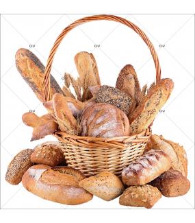 Sticker-panier-de-pains-osier-français-France-qualité-baguette-épis-campagne-viennois-céréales-vitrophanie-décoration-vitrine-boulangerie-pâtisserie-salon-de-thé-électrostatique-sans-colle-repositionnable-réutilisable-DECO-VITRES