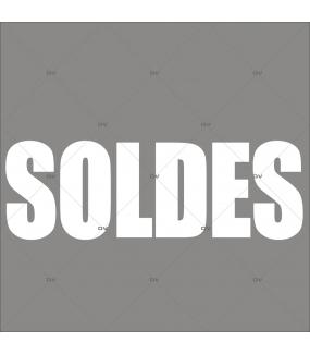 Sticker-soldes-blanc-plusieurs-tailles-moyen-géant-impact-maximum-2-mètres-moderne-vitrophanie-décoration-vitrine-promotionnelle-électrostatique-sans-colle-repositionnable-réutilisable-DECO-VITRES