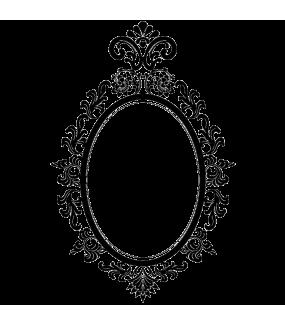 Sticker-cadre-miroir-ambiance-décoration-retro-baroque-adhésif-teinté-dans-la-masse-26-couleurs-au-choix-découpé-mural-ou-vitres-décoration-intérieure-DECO-VITRES