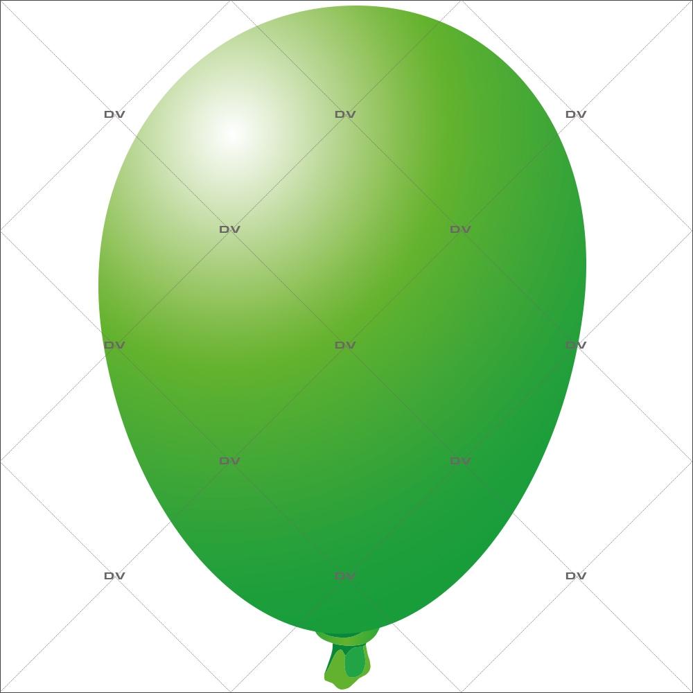 Sticker-ballon-vert-anniversaire-fête-carnaval-vitrophanie-décoration-vitrine-promotionnelle-électrostatique-sans-colle-repositionnable-réutilisable-DECO-VITRES
