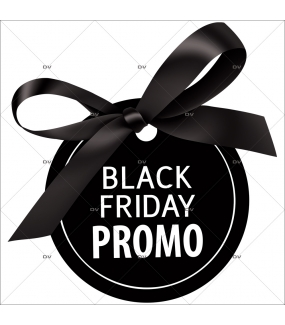 Sticker-étiquette-Black-Friday-promotion-vitrophanie-décoration-vitrine-électrostatique-sans-colle-repositionnable-réutilisable-DECO-VITRES