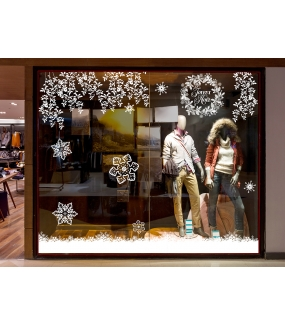 Sticker-branches-de-feuilles-givrées-blanches-paysage-hiver-vitrophanie-décoration-vitrine-noël-électrostatique-sans-colle-repositionnable-réutilisable-DECO-VITRES