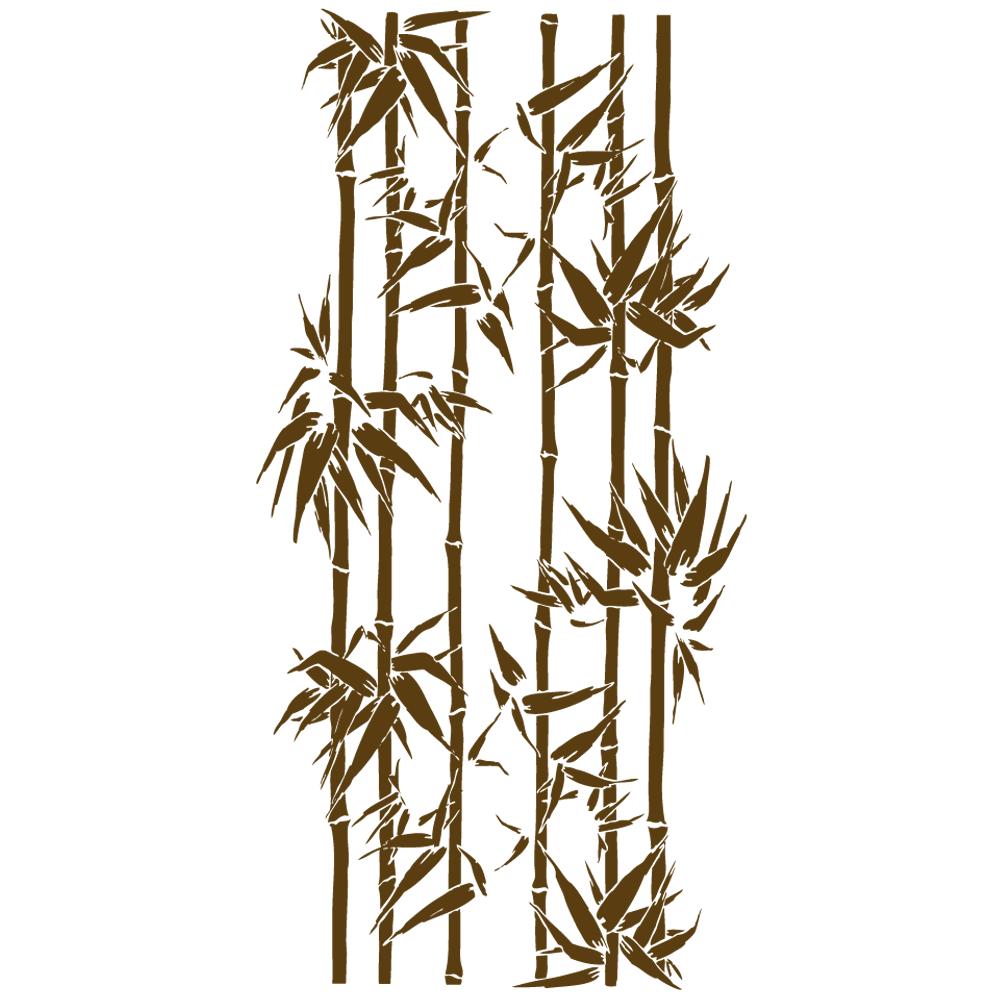 Sticker-bambous-ambiance-décoration-retro-asie-zen-adhésif-teinté-dans-la-masse-26-couleurs-au-choix-découpé-mural-ou-vitres-décoration-intérieure-DECO-VITRES