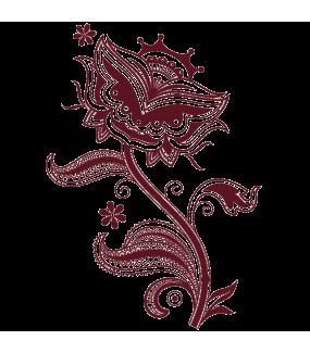 Sticker-fleur-cachemire-Inde-asiatique-ambiance-décoration-asie-zen-adhésif-teinté-dans-la-masse-26-couleurs-au-choix-découpé-mural-ou-vitres-décoration-intérieure-DECO-VITRES