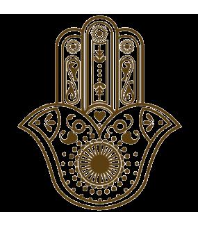 Sticker-main-de-fatma-ambiance-décoration-orientale-adhésif-teinté-dans-la-masse-26-couleurs-au-choix-découpé-mural-ou-vitres-décoration-intérieure-DECO-VITRES