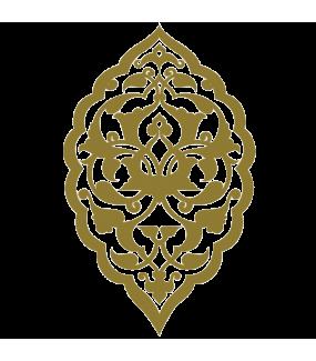 Sticker-motif-ambiance-décoration-orientale-adhésif-teinté-dans-la-masse-26-couleurs-au-choix-découpé-mural-ou-vitres-décoration-intérieure-DECO-VITRES