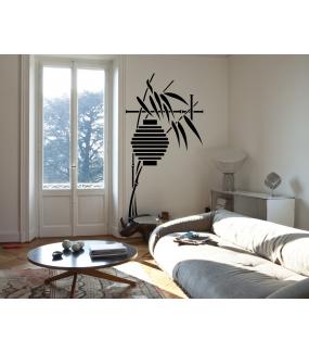 Sticker-lanterne-et-bambous-ambiance-décoration-retro-asie-zen-adhésif-teinté-dans-la-masse-26-couleurs-au-choix-découpé-mural-ou-vitres-décoration-intérieure-DECO-VITRES