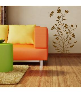 Sticker-plante-indienne-Inde-asiatique-ambiance-décoration-asie-zen-adhésif-teinté-dans-la-masse-26-couleurs-au-choix-découpé-mural-ou-vitres-décoration-intérieure-DECO-VITRES