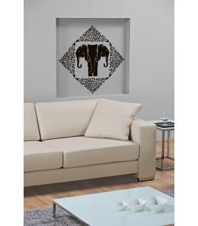 Sticker-éléphants-royaux-thaïlande-asiatique-ambiance-décoration-asie-zen-adhésif-teinté-dans-la-masse-26-couleurs-au-choix-découpé-mural-ou-vitres-décoration-intérieure-DECO-VITRES