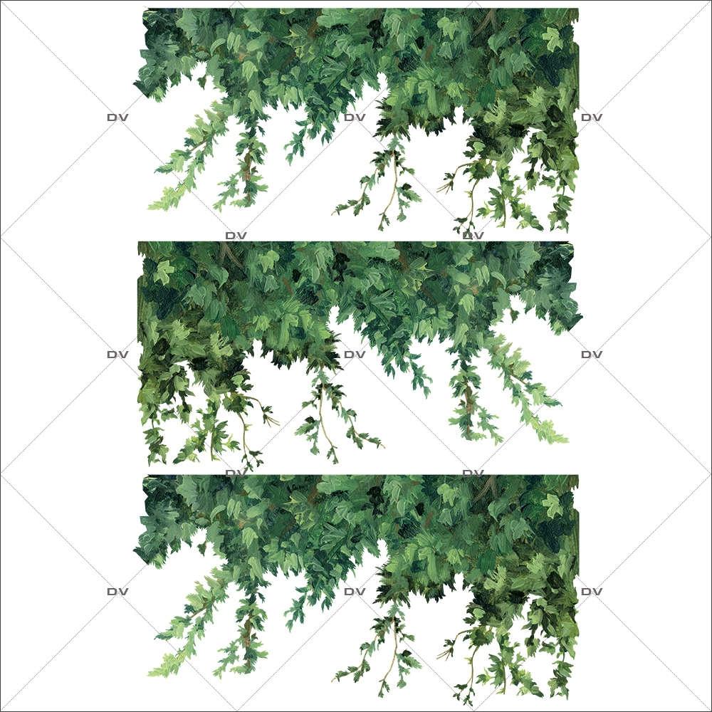Sticker-frises-de-feuillages-vitrophanie-décoration-vitrine-nature-électrostatique-sans-colle-repositionnable-réutilisable-DECO-VITRES
