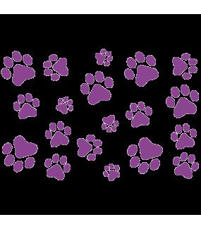 Sticker-empreintes-de-pattes-animaux-chambre-enfant-bébé-adhésif-teinté-dans-la-masse-26-couleurs-au-choix-découpé-mural-ou-vitres-décoration-intérieure-DECO-VITRES