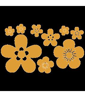 Stickers-9-fleurs-chambre-bébé-enfant-printemps-cuisine-salon-adhésif-teinté-dans-la-masse-26-couleurs-au-choix-découpé-mural-ou-vitres-décoration-intérieure-DECO-VITRES