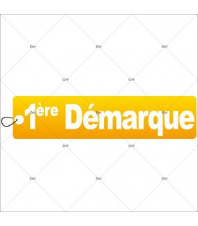 Sticker-frise-étiquette-1ère-démarque-soldes-vitrophanie-décoration-vitrine-promotionnelle-électrostatique-sans-colle-repositionnable-réutilisable-DECO-VITRES