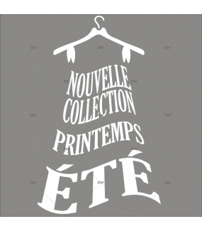 Sticker-nouvelle-collection-printemps-été-robe-vitrophanie-décoration-vitrine-promotionnelle-électrostatique-sans-colle-repositionnable-réutilisable-DECO-VITRES
