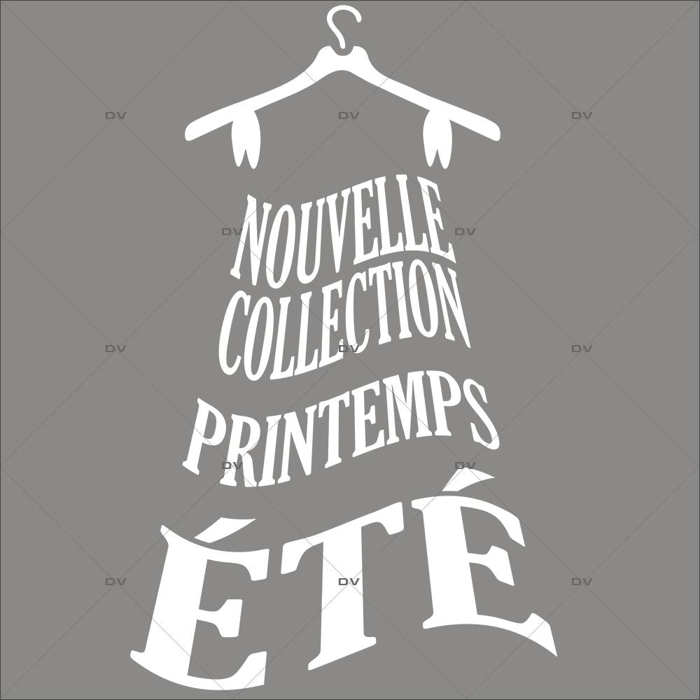 Sticker-nouvelle-collection-printemps-été-robe-vitrophanie-décoration-vitrine-promotionnelle-électrostatique-sans-colle-repositionnable-réutilisable-DECO-VITRES