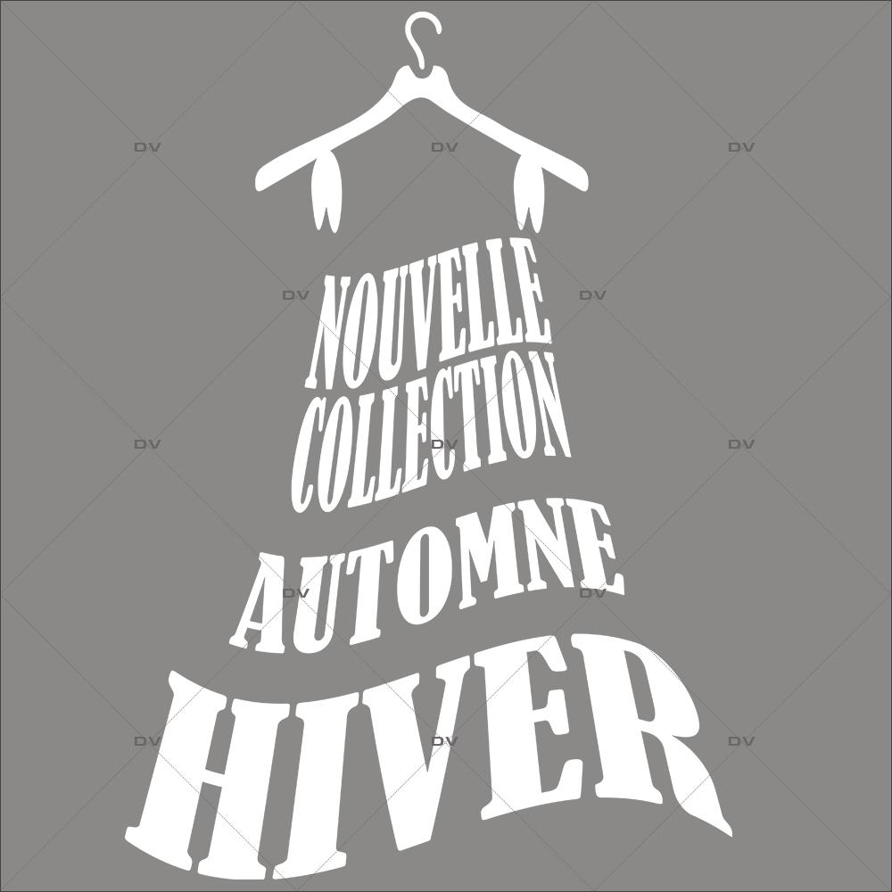 Sticker-nouvelle-collection-automne-hiver-robe-vitrophanie-décoration-vitrine-promotionnelle-électrostatique-sans-colle-repositionnable-réutilisable-DECO-VITRES