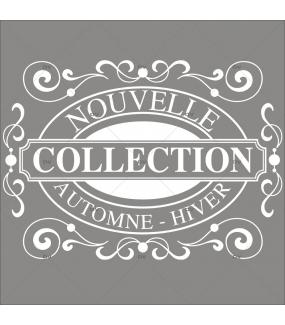Sticker-nouvelle-collection-automne-hiver-vitrophanie-décoration-vitrine-promotionnelle-électrostatique-sans-colle-repositionnable-réutilisable-DECO-VITRES