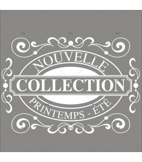 Sticker-nouvelle-collection-printemps-été-vitrophanie-décoration-vitrine-promotionnelle-électrostatique-sans-colle-repositionnable-réutilisable-DECO-VITRES