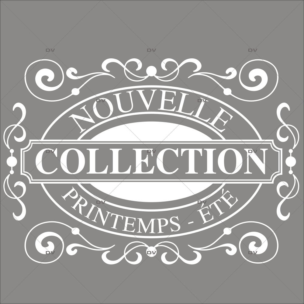 Sticker-nouvelle-collection-printemps-été-vitrophanie-décoration-vitrine-promotionnelle-électrostatique-sans-colle-repositionnable-réutilisable-DECO-VITRES