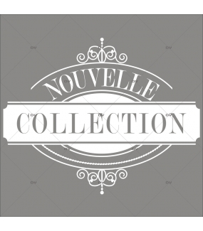 Sticker-médaillon-nouvelle-collection-vitrophanie-décoration-vitrine-promotionnelle-électrostatique-sans-colle-repositionnable-réutilisable-DECO-VITRES