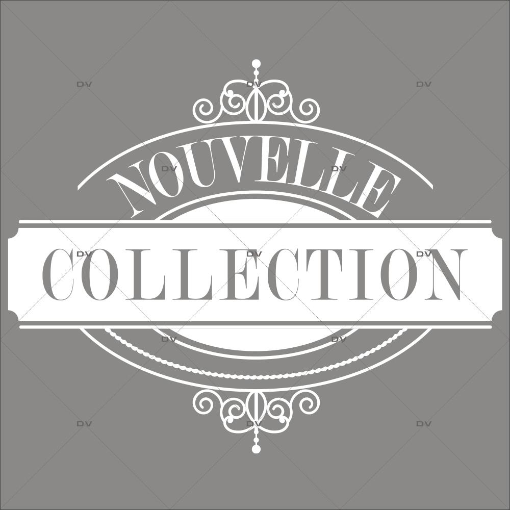 Sticker-médaillon-nouvelle-collection-vitrophanie-décoration-vitrine-promotionnelle-électrostatique-sans-colle-repositionnable-réutilisable-DECO-VITRES