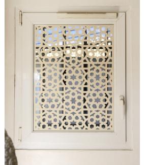 Sticker-moucharabieh-ambiance-décoration-orientale-personnalisable-adhésif-teinté-dans-la-masse-26-couleurs-au-choix-découpé-mural-ou-vitres-décoration-intérieure-DECO-VITRES
