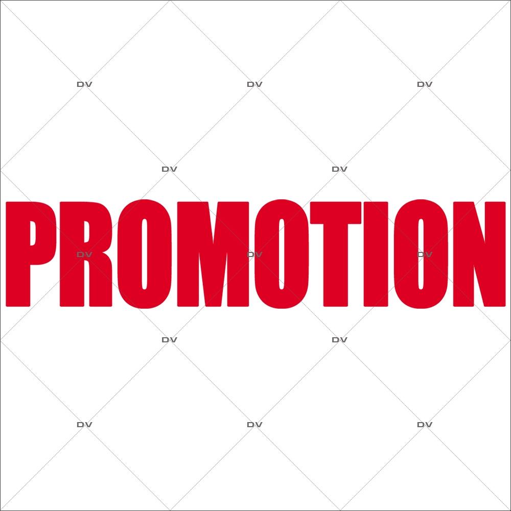 Sticker-promotion-texte-rouge-vitrophanie-décoration-vitrine-promotionnelle-électrostatique-sans-colle-repositionnable-réutilisable-DECO-VITRES
