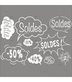 Photo-décoration-boutique-enfant-sticker-bulles-éclatés-soldes-cartoon-blanc-vitrophanie-décoration-vitrine-promotionnelle-électrostatique-sans-colle-repositionnable-réutilisable-DECO-VITRES